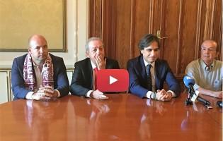 """[VIDEO] Urbs Reggina, Zeman si presenta:""""E' l'occasione della vita"""" CONFERENZA INTEGRALE"""