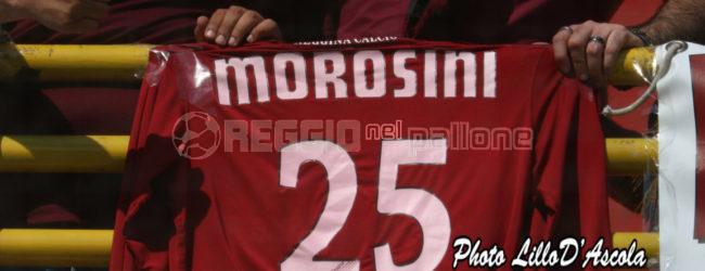 """Un bacio al cielo, per sempre Moro"", la Reggina ricorda Piermario Morosini"