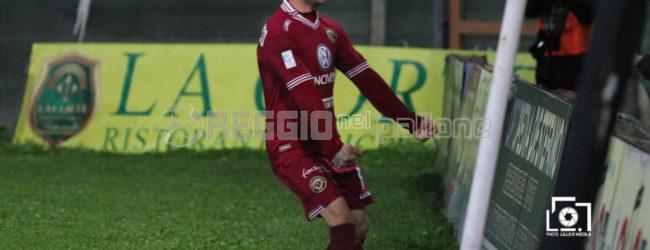 """Reggina, Sandomenico dai gol all'addio: """"Il popolo amaranto mi ha fatto sentire a casa…"""""""