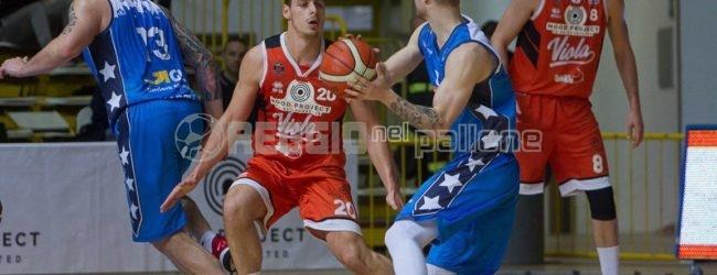 Basket, la Pallacanestro Viola sconfitta anche a Salerno