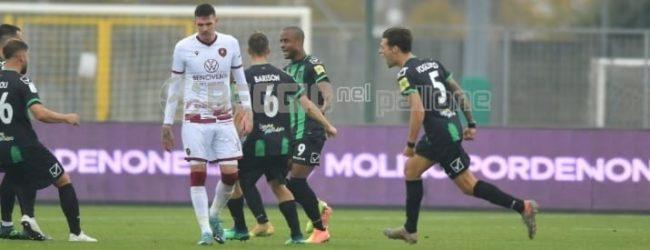 Pordenone-Reggina 2-2, TOP&FLOP: Folorunsho evita il ko, attacco abulico