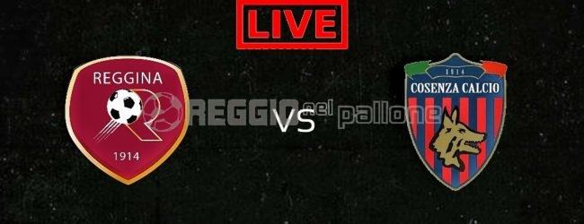 LIVE! Reggina-Cosenza 0-0, derby a reti bianche. FINALE