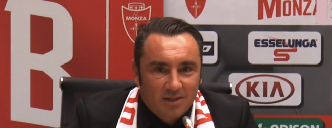 """Serie B, il Monza perde in casa ma Brocchi è sicuro: """"Dalle difficoltà si esce tutti insieme"""""""