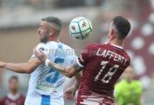 Reggina, Lafferty ancora a secco: un ritorno senza acuti