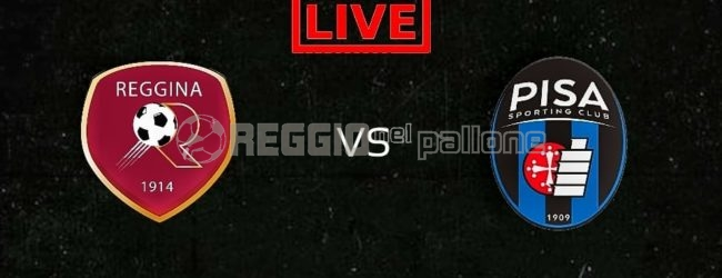 LIVE! Reggina-Pisa su RNP: 1-2 FINALE