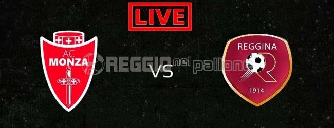LIVE! Monza-Reggina su RNP, FINALE: 1-0