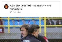 """L'abbraccio tra Cozza e Franceschini e il """"siparietto"""" facebook con la Reggina"""