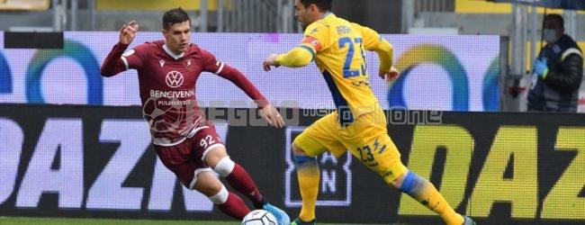 Frosinone-Reggina 1-1, il tabellino della gara