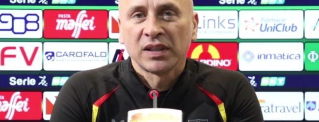 """Lecce, Corini: """"Non avevamo mai vinto una partita così. Abbiamo sofferto pochissimo"""""""