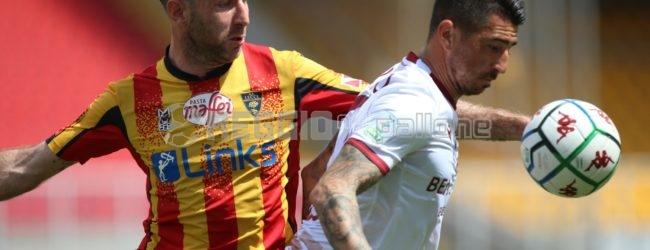 Lecce-Reggina 2-2, il tabellino del match: Edera e Montalto per gli amaranto