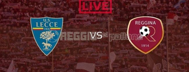 LIVE! Lecce-Reggina su RNP 2-2 FINALE