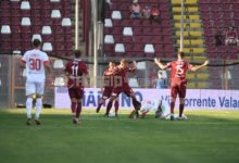 Vicenza-Reggina 0-1, gli amaranto tornano alla vittoria: il tabellino della gara
