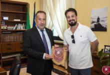 Reggina, il presidente Gallo in visita al Prefetto e al Questore di Reggio